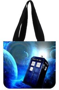 Tardis Galaxy Tote Bag