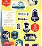 Doctor Who sticker sheet