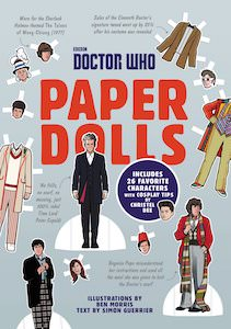 Doctor Who Paper Dolls Book