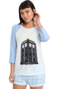 Tardis The Universe Pajama Set