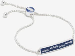 ID Wibbly Wobbly Timey Wimey Bracelet
