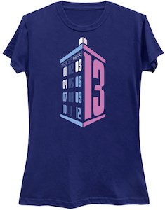 Tardis And The 13th Doctor T-Shirt