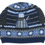 Christmas Tardis And Dalek Beanie Hat