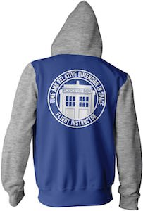 Time And Relative Dimension In Space Hoodie