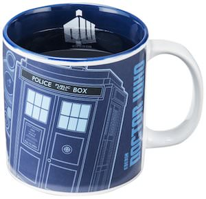 Tardis Heat Changing Mug