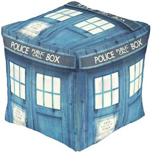 Doctor Who Tardis Pouf