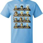 The Heads Of 13th Doctor's T-Shirt