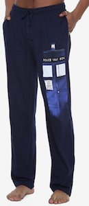 Materializing Tardis Pajama Pants
