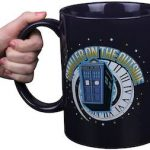 dr who Smaller On The Outside Tardis Mug
