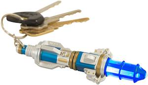 Sonic Screwdriver Key Chain With Build In Light