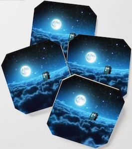 Tardis In The Clouds Coasters