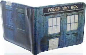 Worn Look Tardis Wallet