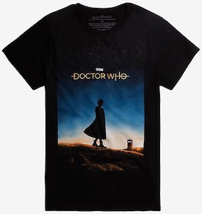 Female Doctor And A Sunset T-Shirt