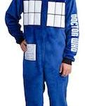 Dr. Who Tardis Fleece Onesie Lounger