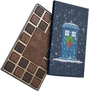 Tardis Christmas Chocolates