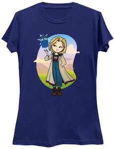 13th Doctor And The Tardis T-Shirt