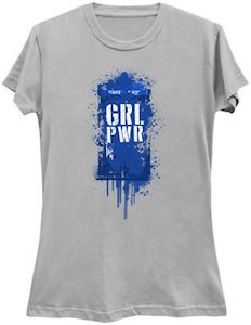 Tardis Girl Power T-Shirt