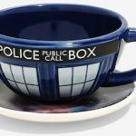 Dr. Who The Galaxy And The Tardis Cup & Saucer