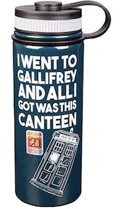 I went to Gallifrey Canteen