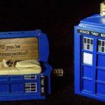 Dr. Who Tardis Ring Box