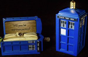 Tardis Ring Box