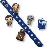 Doctor Who Crocs Charms And Bracelet Set
