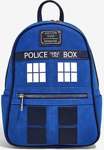 Loungefly Tardis Backpack