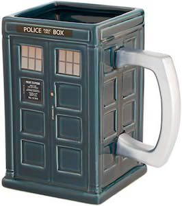 Tardis Shaped Mug