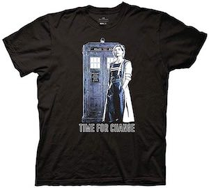 Time For Change The Female Doctor T-Shirt