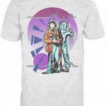 Doctor Who Cybermen And The 4th Doctor T-Shirt