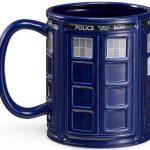 Dr Who 64 Oz Tardis Mug