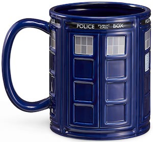 Dr Who 64 Oz Tardis Mug