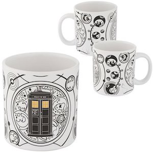 Tardis And Gallifrey Symbols Mug