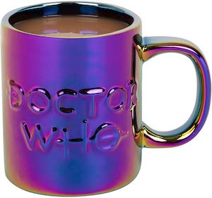Doctor Who Holographic Logo Mug