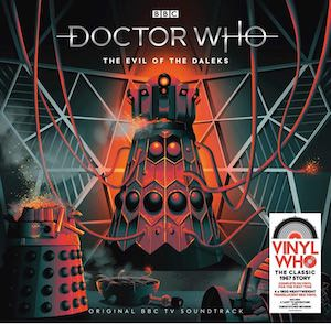 Doctor Who The Evil Of The Daleks Vinyl Record Soundtrack