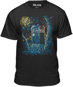 The Painted Tardis T-Shirt