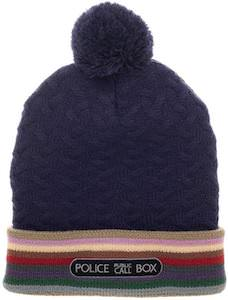 Beanie Hat With 13th Doctor Details