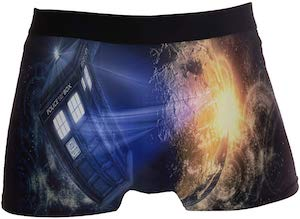 Doctor Who Planet And The Tardis Boxers Shorts