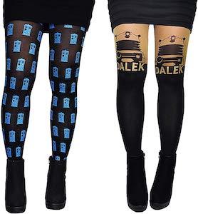 Doctor Who Tardis And Dalek Women's Tights