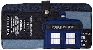 Doctor Who Denim Tardis Wallet