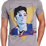 10th Doctor In 80s Style T-Shirt