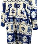 Doctor Who Women's Fair Isle Onesie Pajama