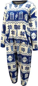 Women's Fair Isle Onesie Pajama