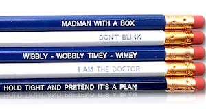 Doctor Who Pencil Set