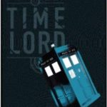 Doctor Who Time Lord And The Tardis Throw Blanket