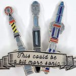 Doctor Who 3 Sonic Screwdrivers Pin