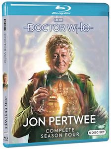 3rd Doctor Season 4 Blu-ray Set