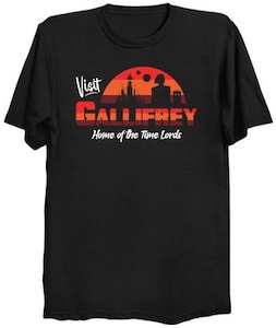 Doctor Who Visit Callifrey Home Of The Time Lords T-Shirt
