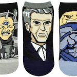 Doctor Who And Villains On 5 Pairs Of Socks