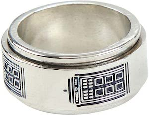 Tardis Ring That Spins